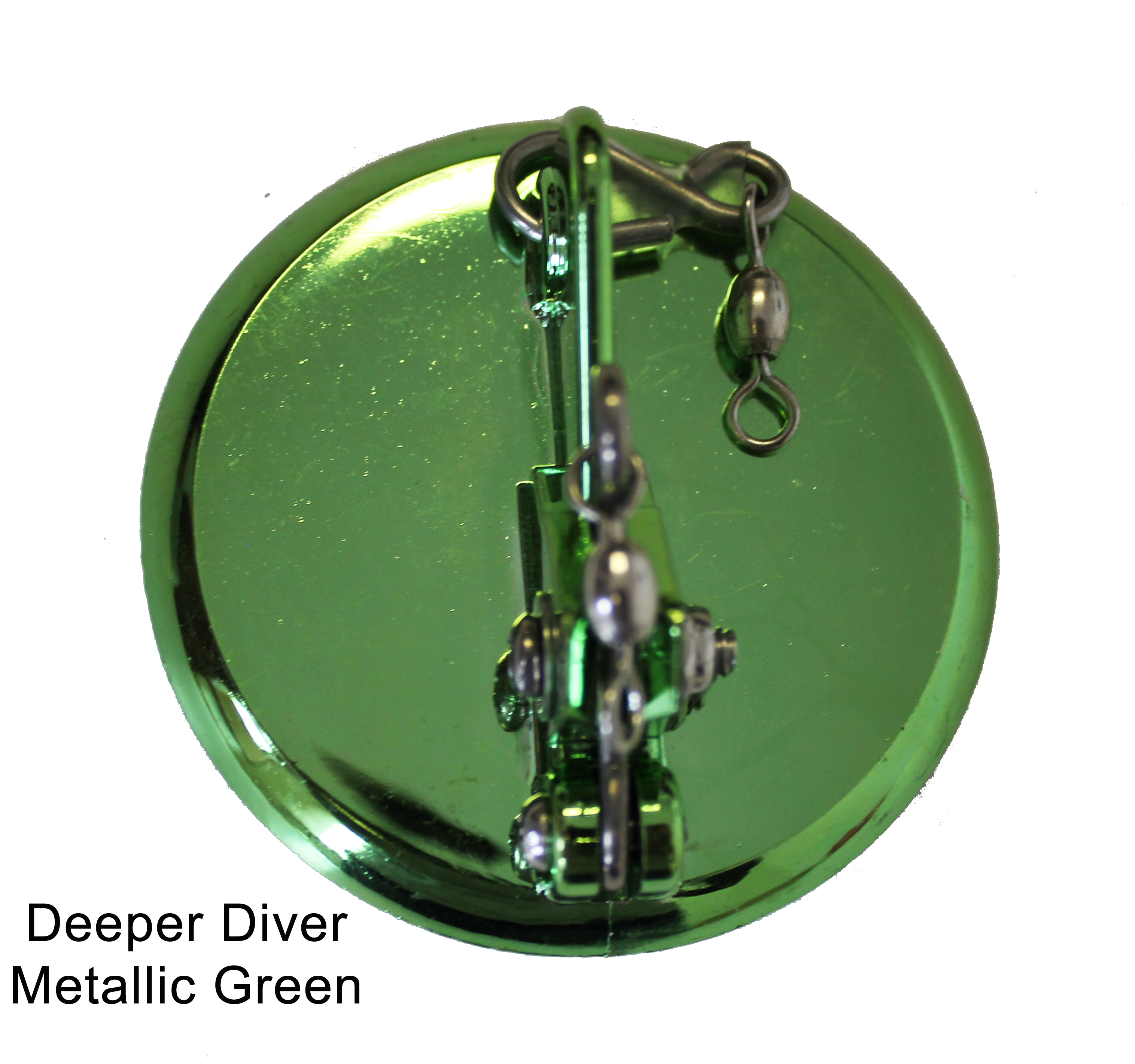 Deeper Diver 65mm Metallic Green